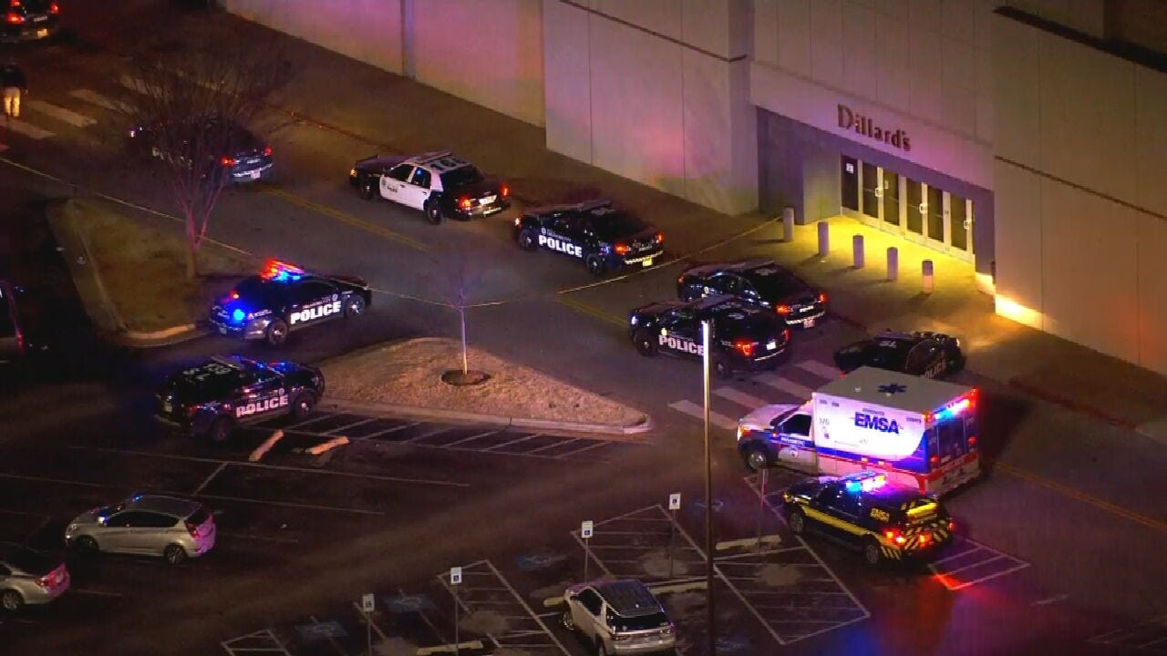 Team Coverage: Shots Fired At Penn Square Mall, Suspect On-The-Run