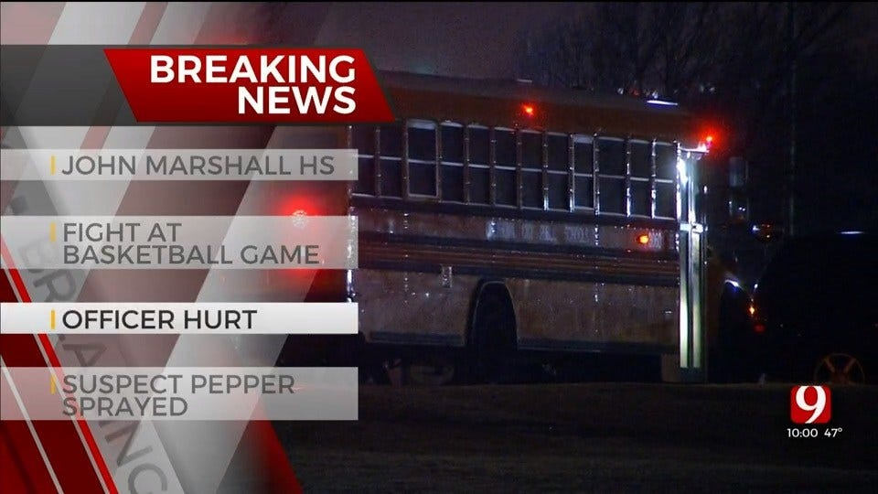 Fight Reported During John Marshall High School Basketball; Officer Involved Is OK