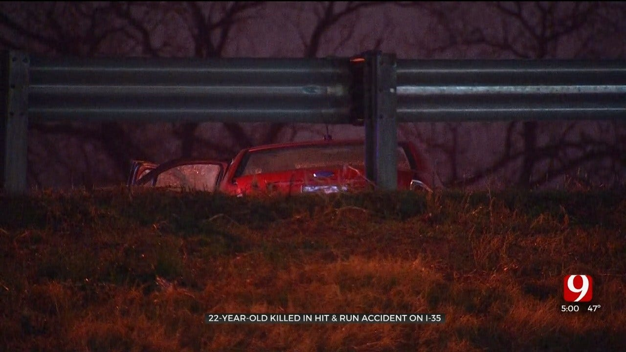 22-Year-Old Woman Killed In Hit-And-Run Crash On I-35 Near Moore