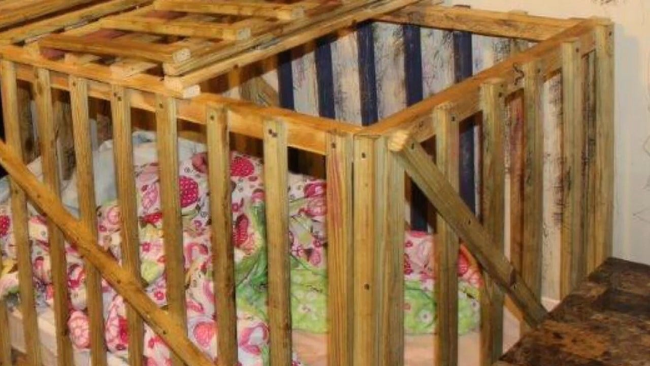 Mother, Grandparents Accused Of Locking Children In Wooden Cages