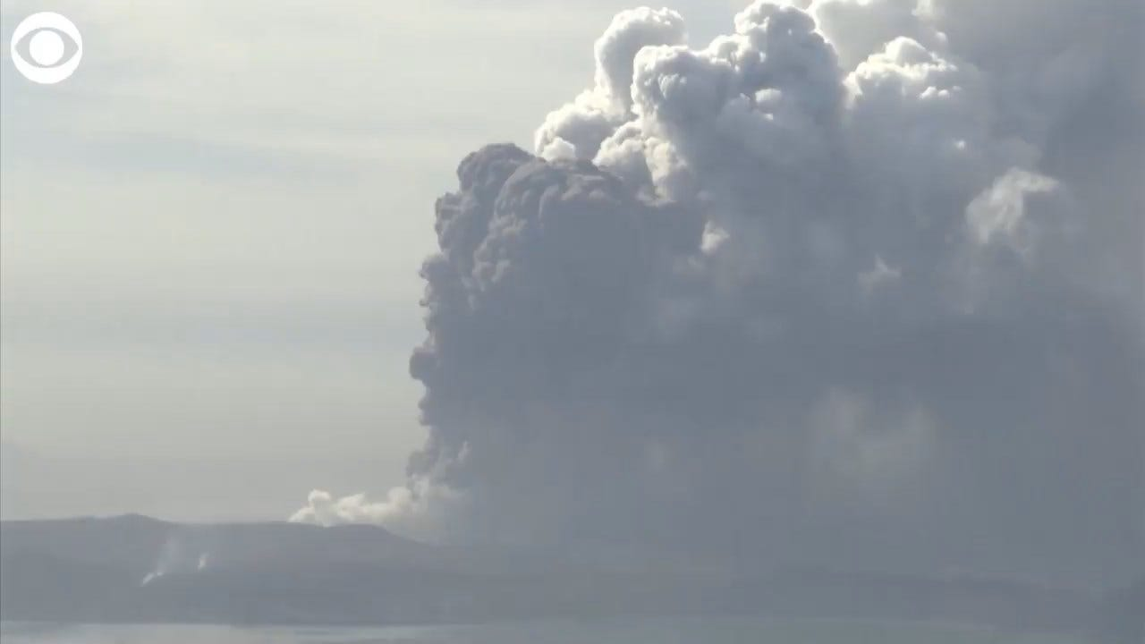 WATCH: Taal Volcano Continues To Spew Ash In The Philippines