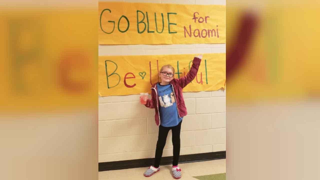 Ohio Town Rallies Around 8-Year-Old Girl Battling Brain Cancer