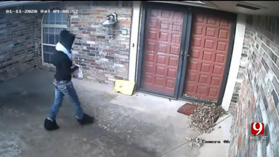 WATCH: Woman Chases Down Porch Pirate