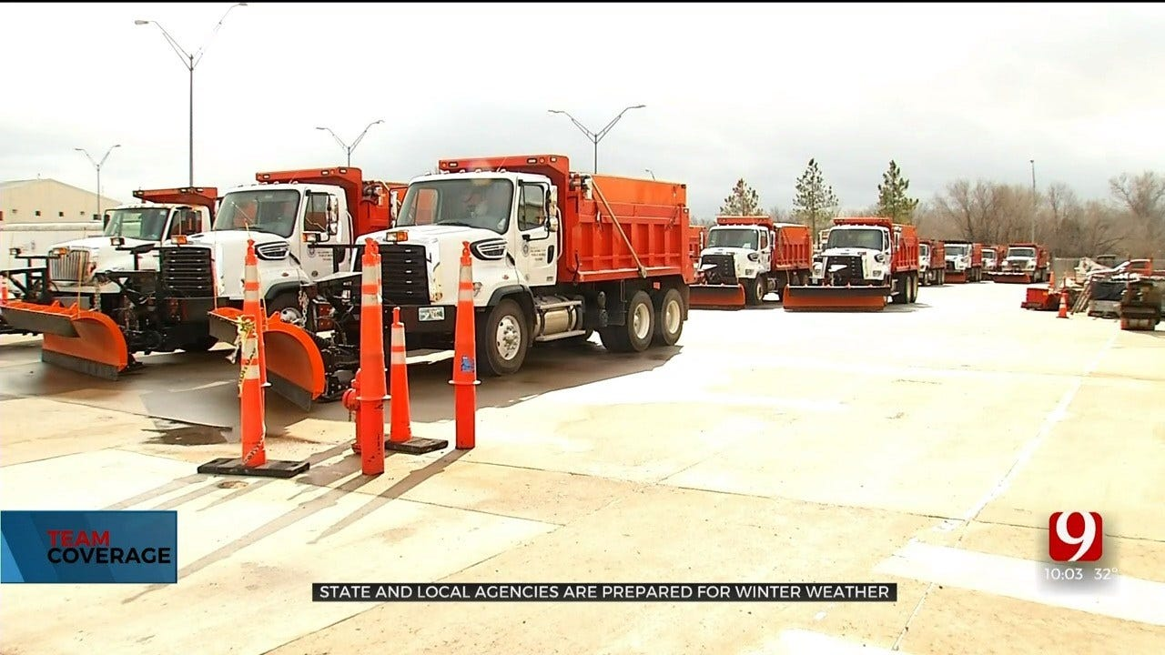 State, Local Agencies Prepare For Winter Weather