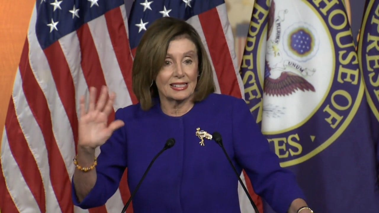 Pelosi On The Articles Of Impeachment: I Will 'Send Them Over When I'm Ready'