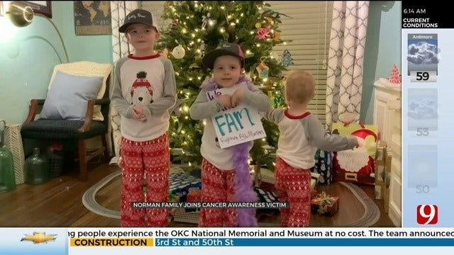 WATCH: Metro Family Raising The Roof To Raise Awareness For Childhood Cancer