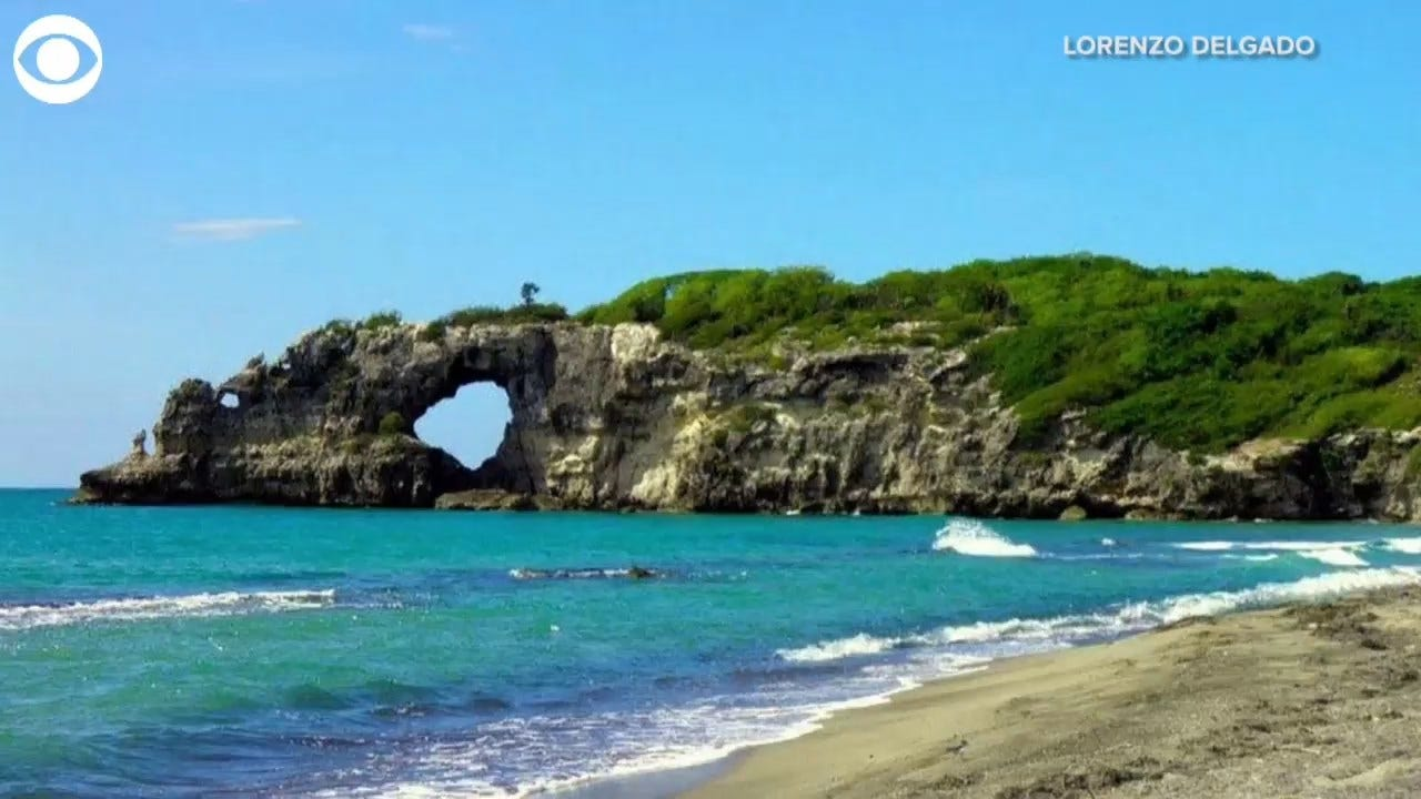 LOOK: Puerto Rico's Famous Natural Rock Formation Punta Ventana Destroyed By Earthquake