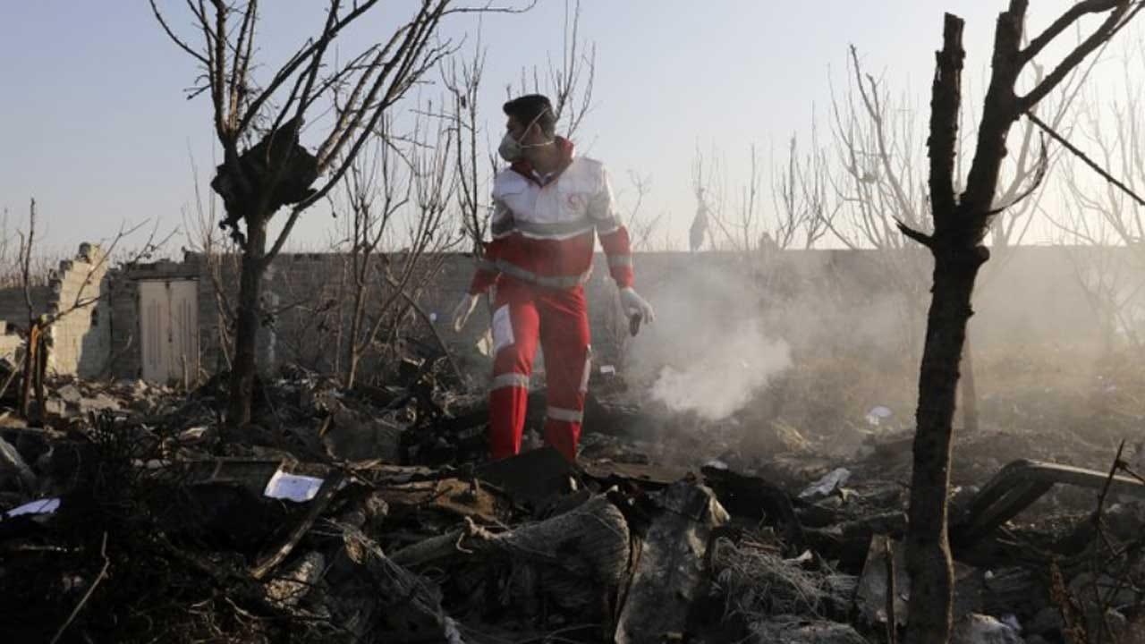Ukrainian Airplane Crashes Near Iran's Capital, Killing 176