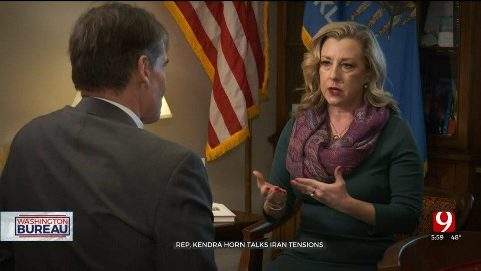 Oklahoma's Lone Democrat Kendra Horn Weighs In On Tensions With Iran