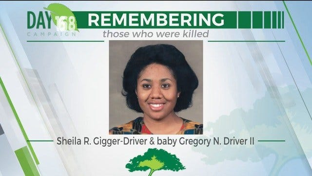 168 Day Campaign: Sheila R. Gigger-Driver, Baby Gregory N. Driver The Second