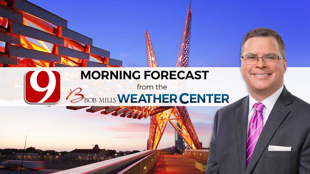 Tuesday Morning Forecast With Jed Castles