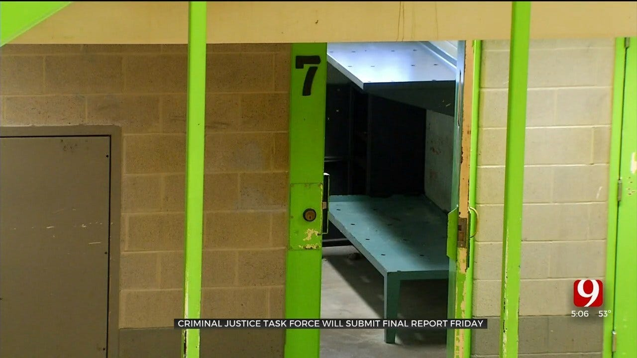 Criminal Justice Task Force Will Submit Final Report Friday