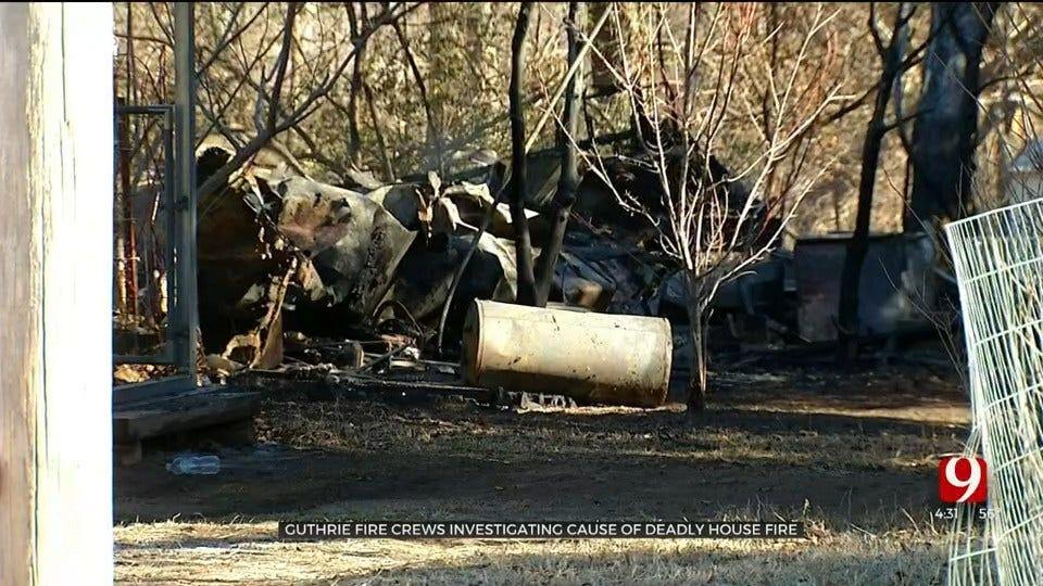 Fire Officials Investigate After Fire Kills 1, Destroys 2 Guthrie Mobile Homes