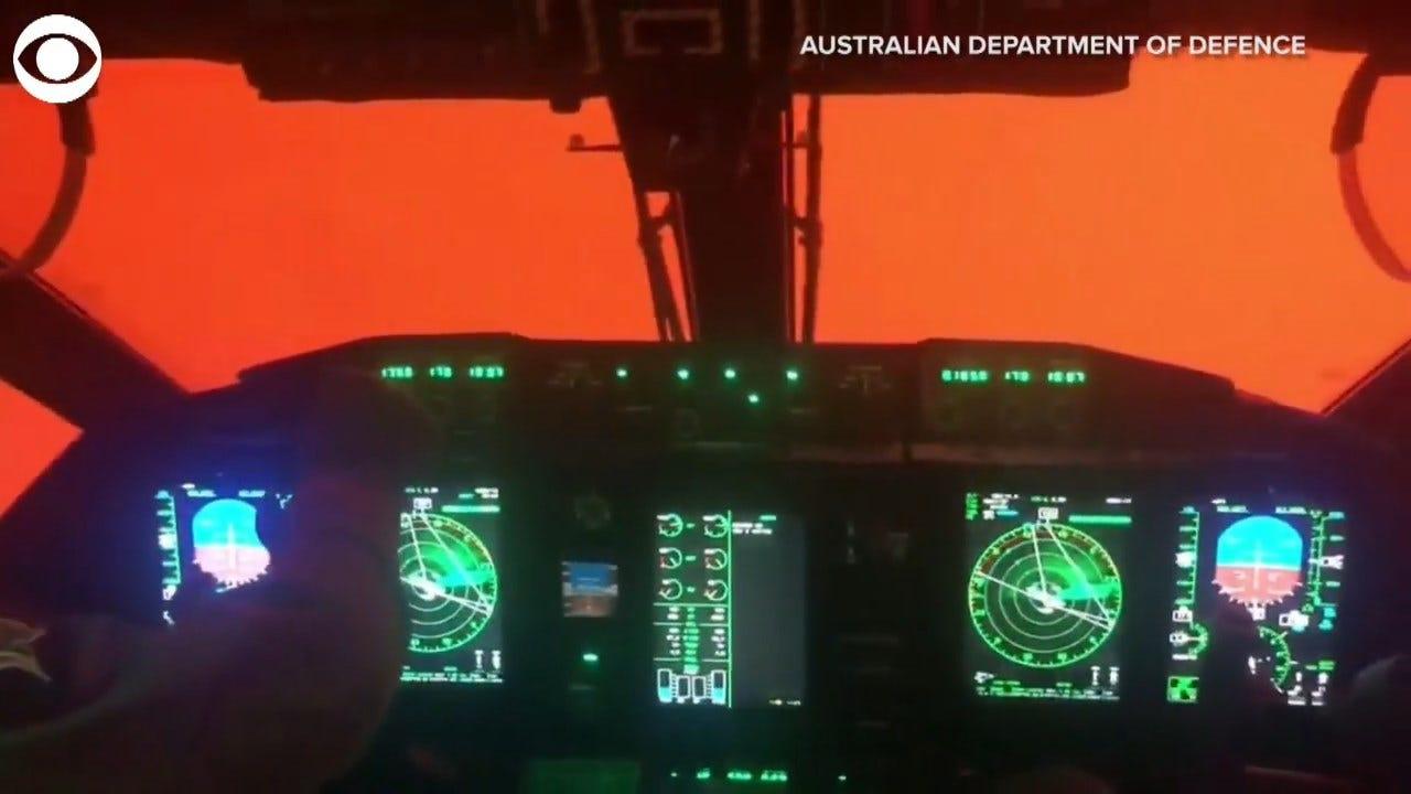 WATCH: Wildfires Create Orange Skies Over Australia