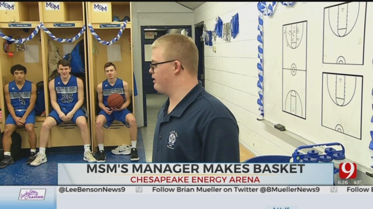 WATCH: Basketball Team Manager With Down Syndrome Makes Basket In First Varsity Game