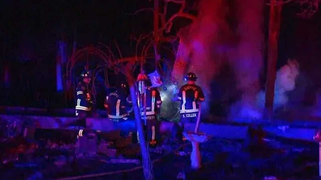 Fire Officials Investigate After Fire Kills 1, Destroys 2 Guthrie Mobile Homes