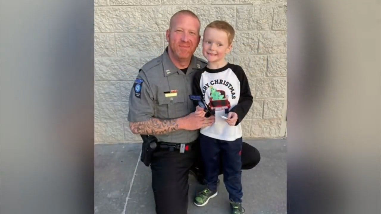 On A Good Note: Cleveland County Deputies Make Special Visit
