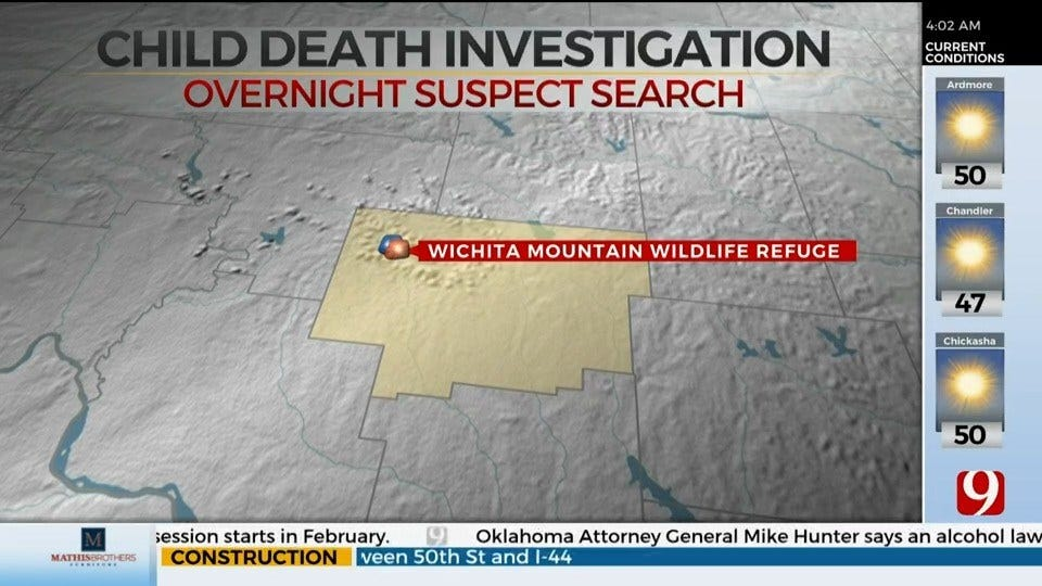 OHP Searches For Suspect Accused Of Killing Child