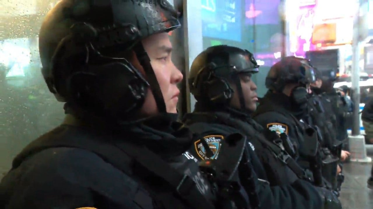 Times Square Will Be 'The Safest Place On Earth' During New Year's Eve Ball Drop, NYPD Says