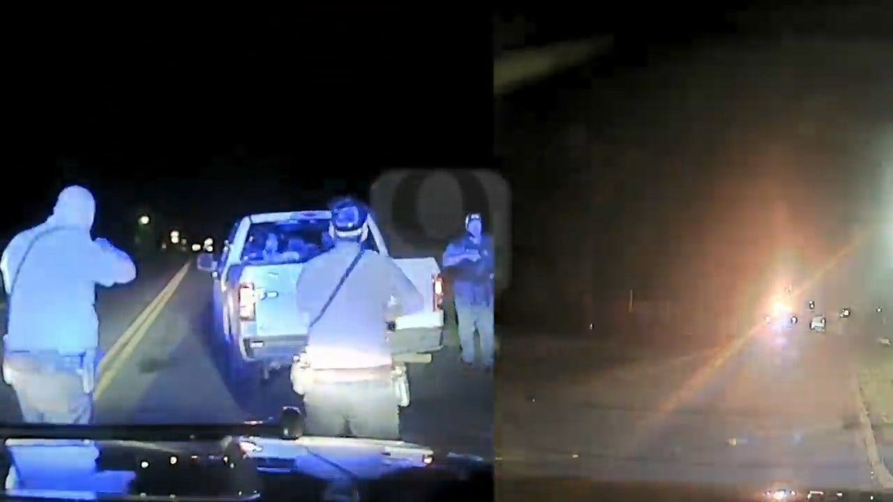 GRAPHIC WARNING: Dashcam Video Captures Moment Blackwell Officer Shoots, Kills Armed Woman