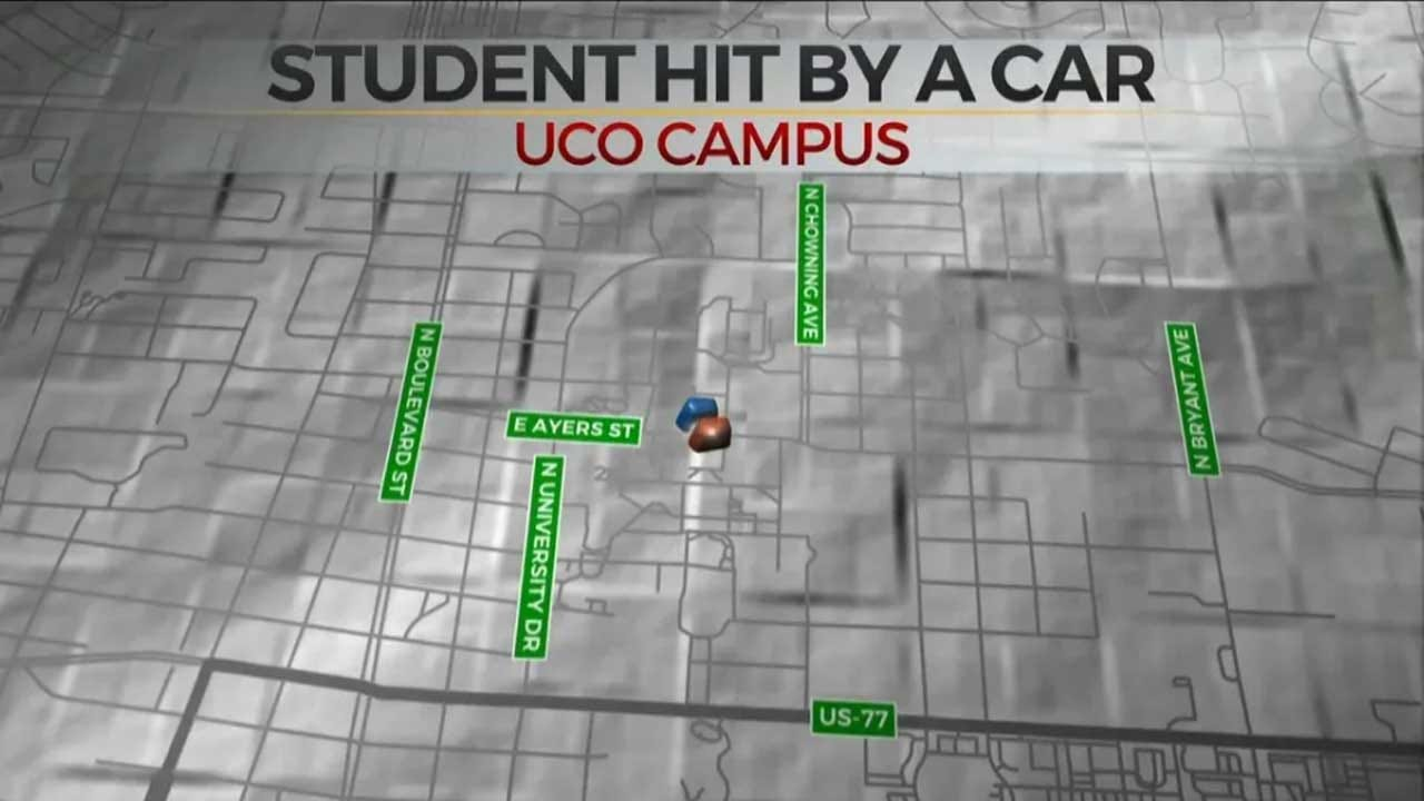 Alleged Suicidal Driver Hits UCO Student Near Campus