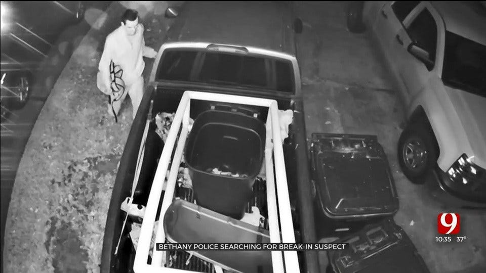 Bethany Police Search For Break-In Suspect