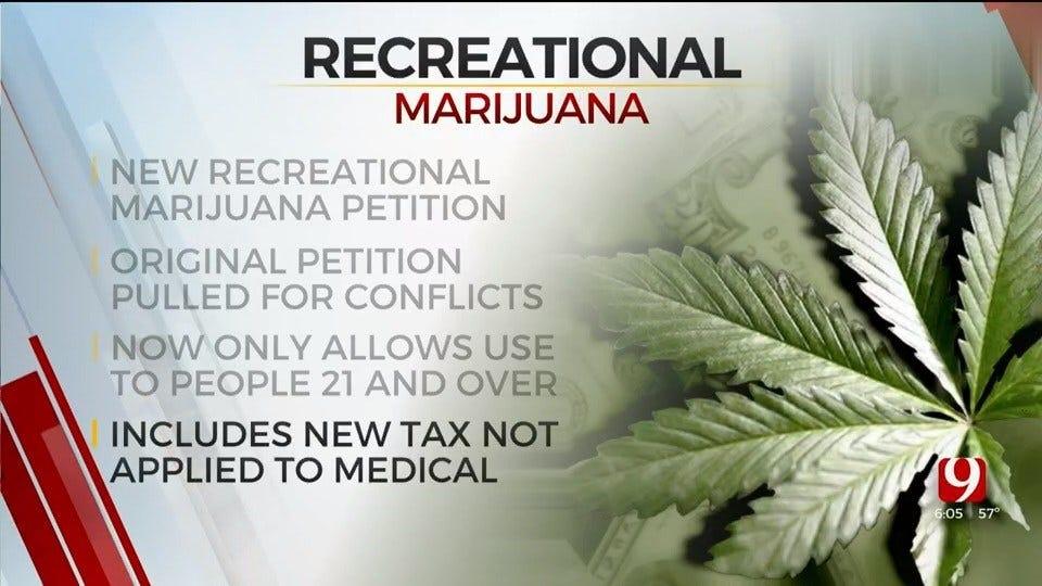 Oklahoma Group Refiles Recreational Marijuana Petition