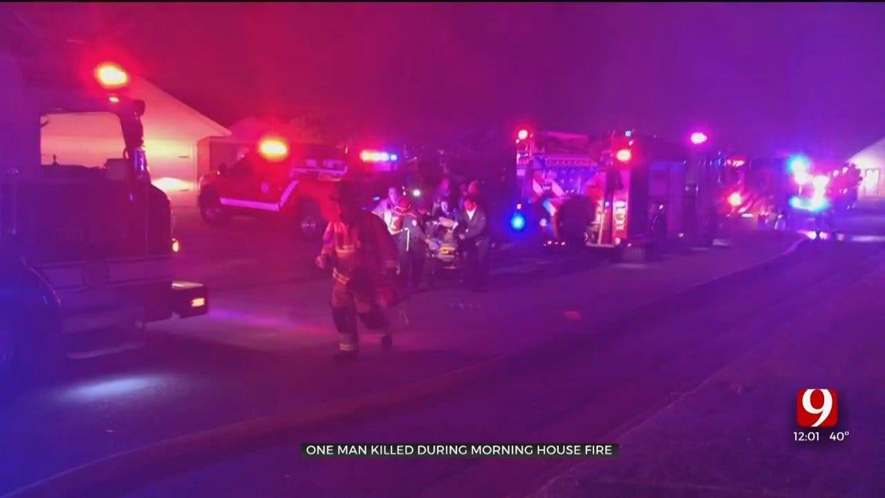 OKCFD: 1 Dead, Pet Killed In SW OKC House Fire
