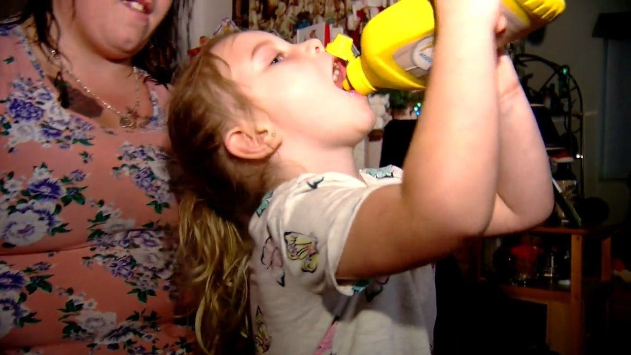 Caught On Camera: This 4-Year-Old Is Elated After Receiving Mustard For Christmas