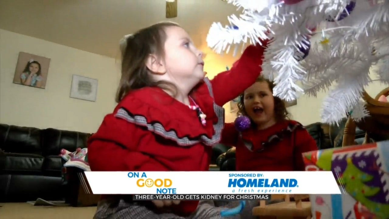 On A Good Note: Norman Child Gets 'Gift Of Life' For Christmas