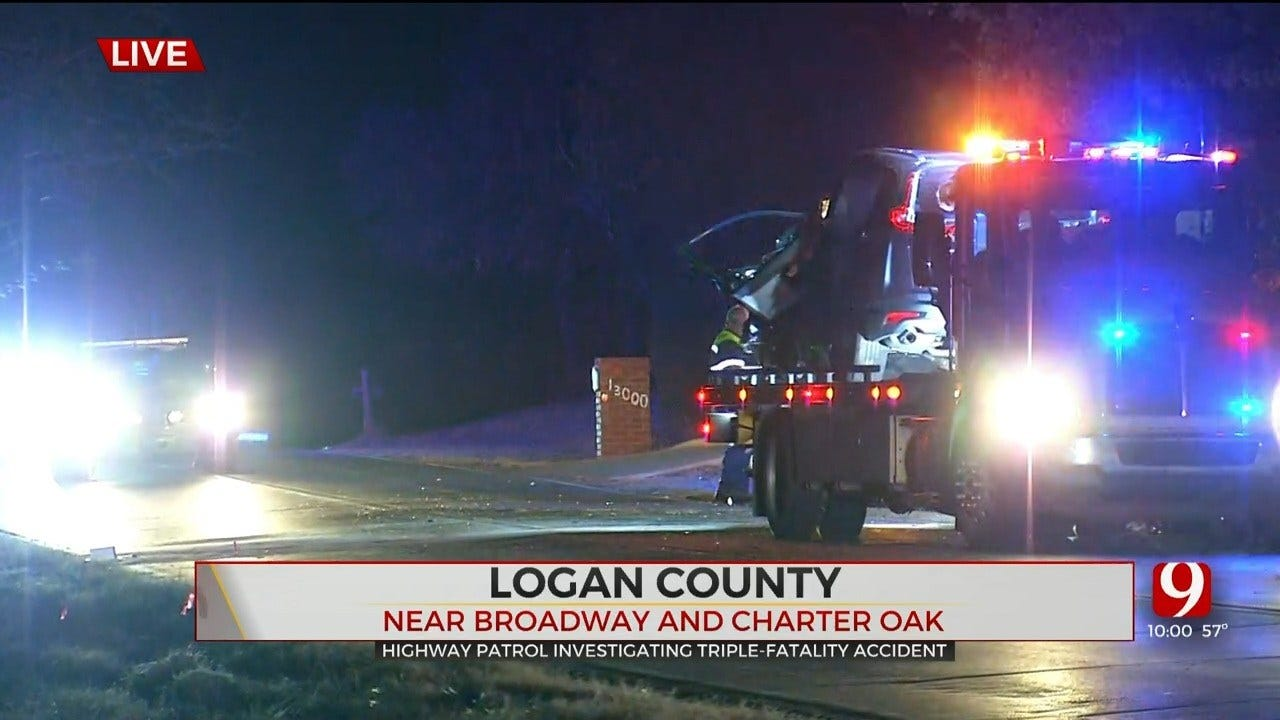 OHP Investigating Triple-Fatality Accident In Logan County