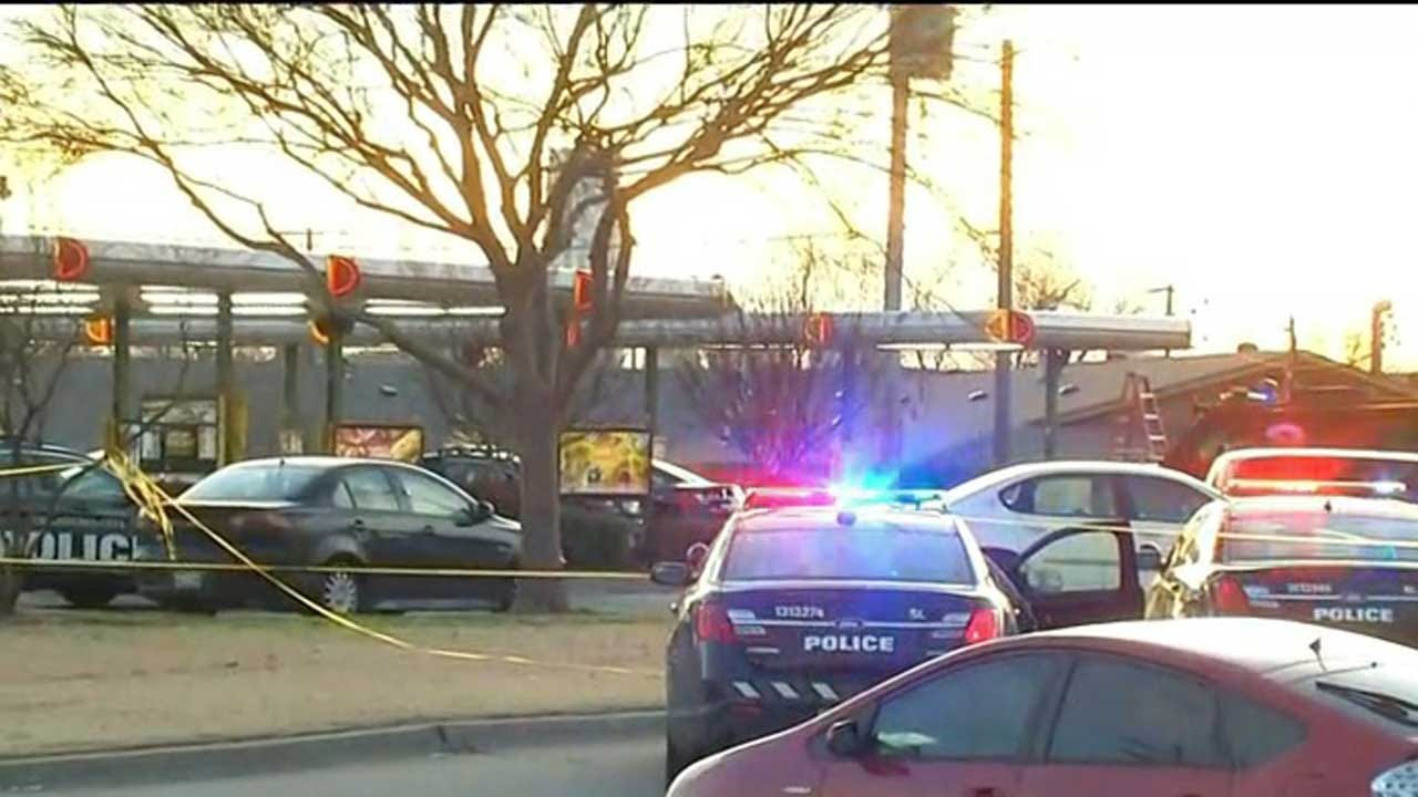 Police: Suspect Dead After Standoff, Officer-Involved Shooting At OKC Sonic