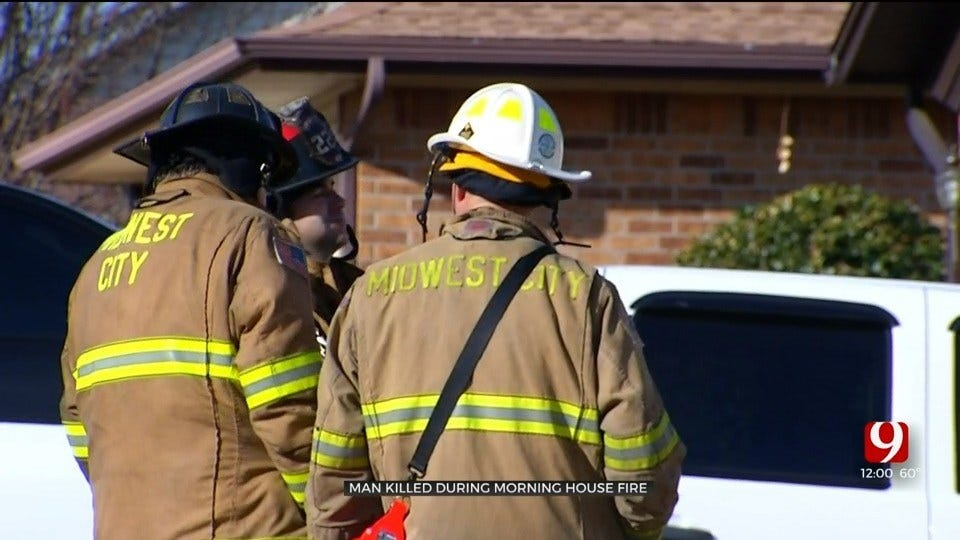 MWC FD: 1 Dead After Midwest City House Fire