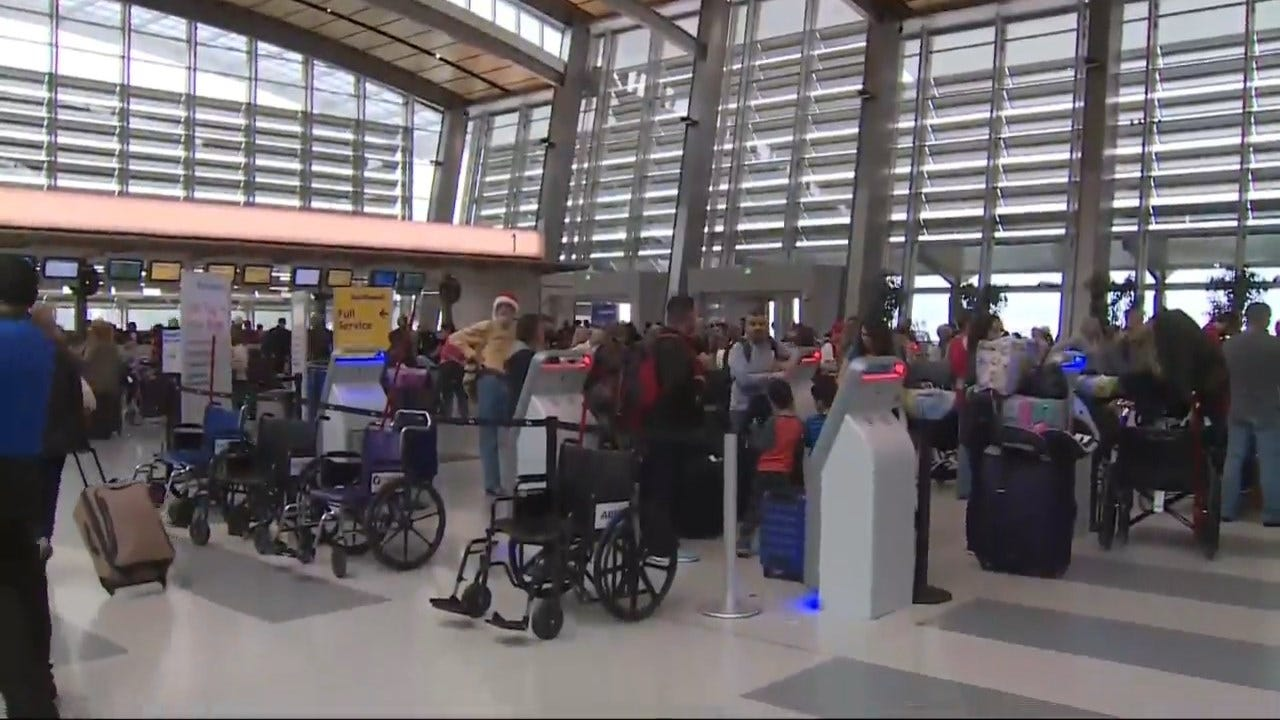 Millions Of Americans Are Expected To Travel This Holiday Season