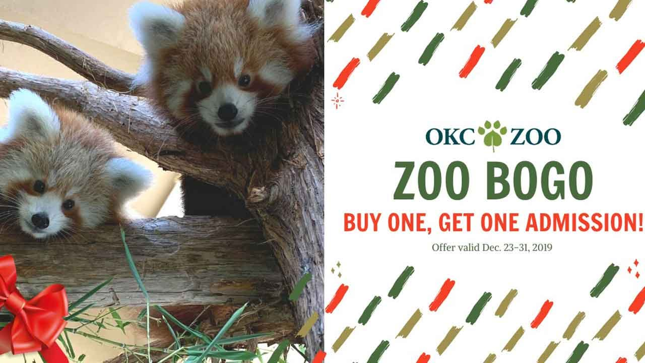 Oklahoma City Zoo Offers BOGO Ticket Admission Deal