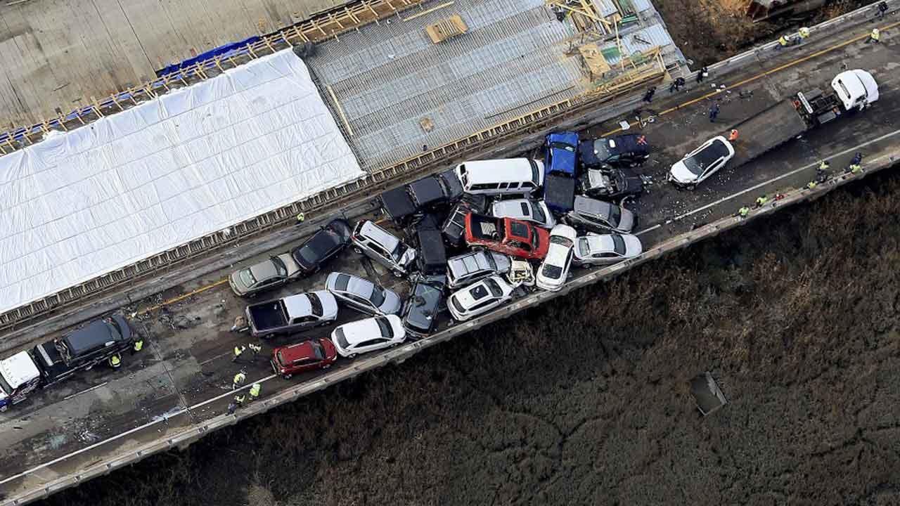 Police: 69-Vehicle Pileup In Virginia Leaves Dozens Injured