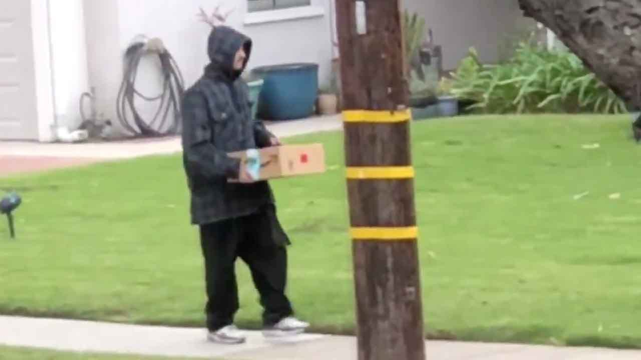 WATCH: Apparent Porch Pirate Shamed Into Returning Nearly-Stolen Package