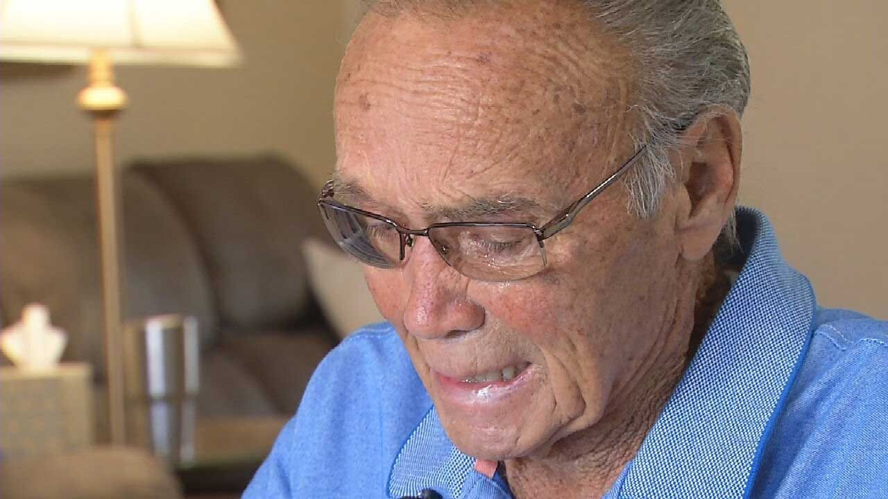 Anonymous News 9 Viewer Gifts Okla. Veteran With $25K Check After Work Truck Stolen, Home Burglarized