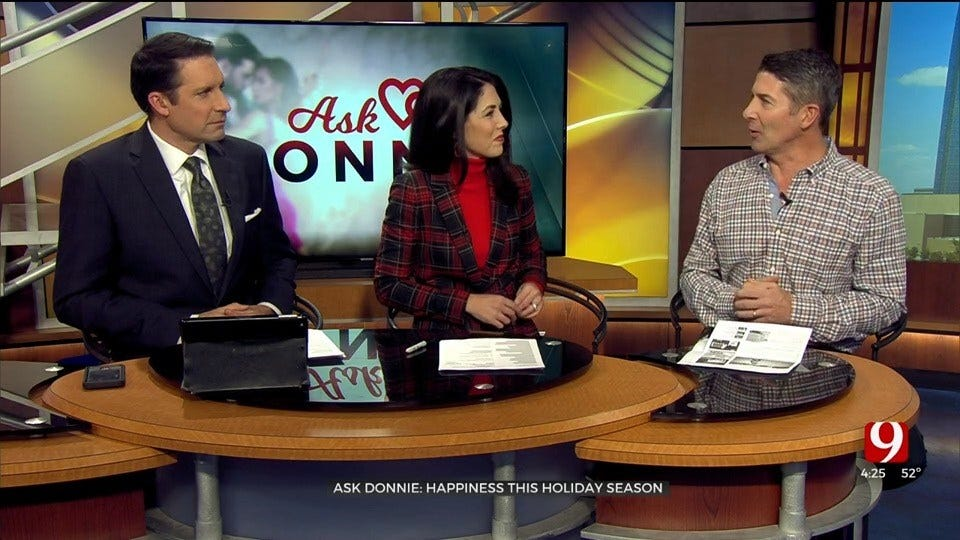 Ask Donnie: Happiness This Holiday Season