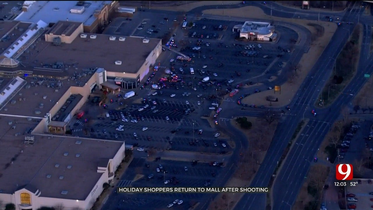 Shoppers, Employees Return To Penn Square Mall To Retrieve Belongings After Shooting