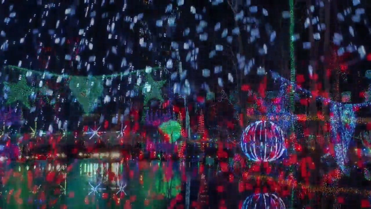 Holiday Light Display Holding Guinness World Record Becomes Symbol Of A Dad's Love
