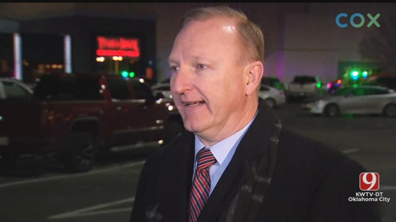 WATCH: OCPD Says Penn Square Mall Clear After Shooting; Suspect At-Large