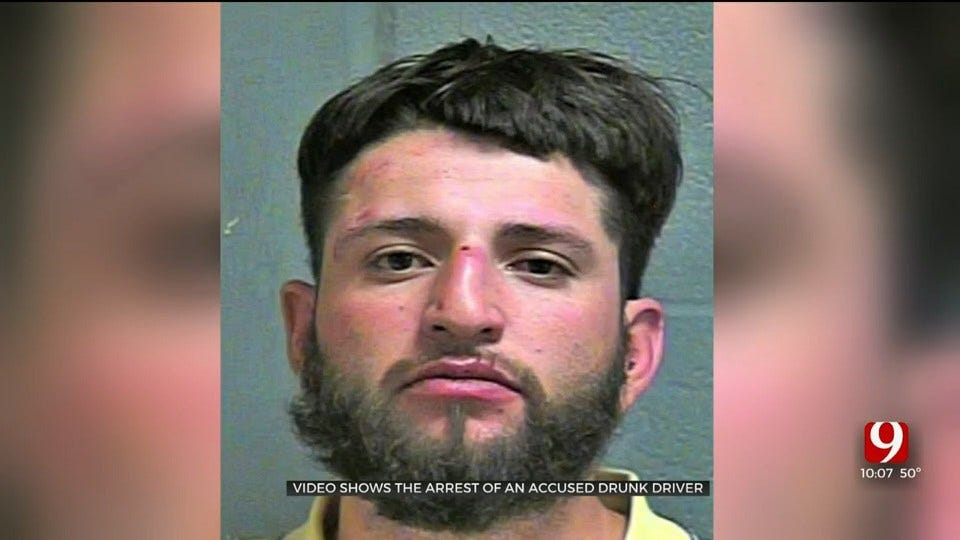 WATCH: Video Shows Arrest Of Wrong-Way Driver Accused Of Drunk Driving On I-35, I-40