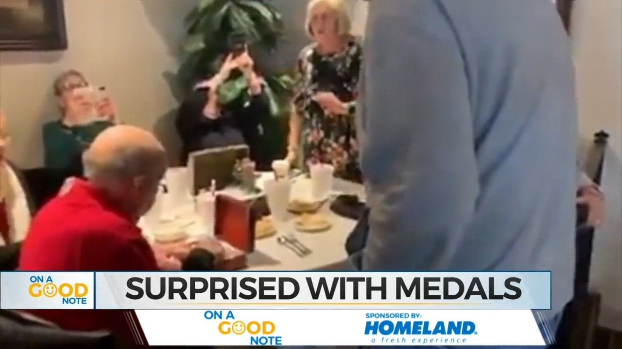 On A Good Note: Toby Keith Surprises Oklahoma War Hero With New Medals