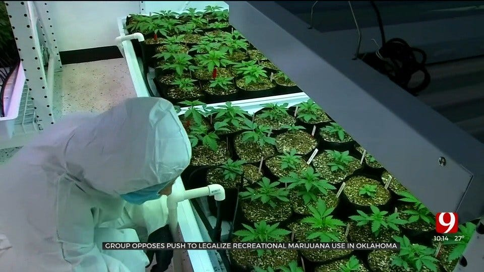 Local Group Opposes Push To Legalize Recreational Marijuana Use In Oklahoma