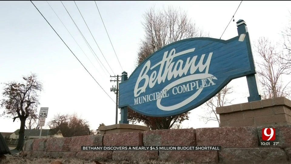 City Of Bethany Discovers Nearly $4 Million Budget Shortfall, Cuts Possible