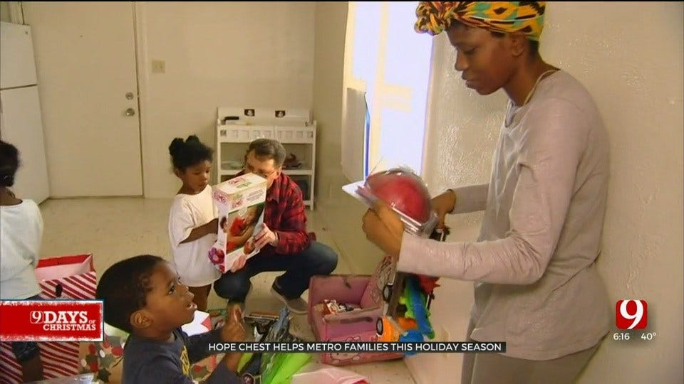 9 Days Of Christmas: Hope Chest Helps Mother Of 5 For The Holiday Season