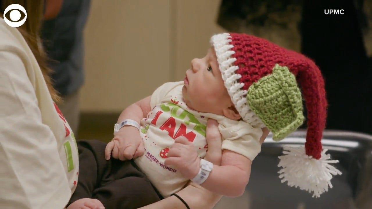 TAKE A LOOK: Newborns Dressed Up As Baby Yoda At Pennsylvania Hospital