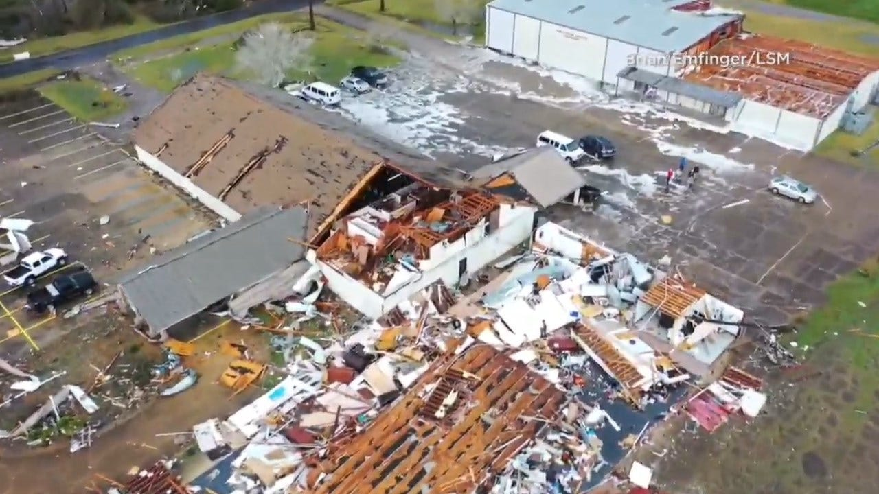 3 Dead As Suspected Twisters, Other Storms Batter The South