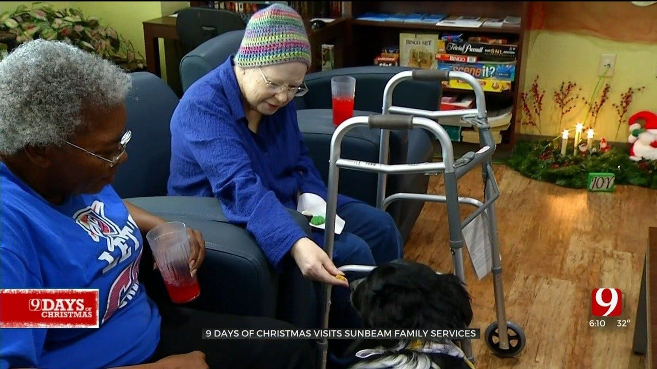 9 Days Of Christmas: News 9 Visits Sunbeam Family Services